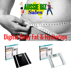 Everfit Glass Digital Scales Body Fat Hydration Bathroom Weight LCD Electronic