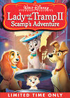 Lady and the Tramp II: Scamps Adventure (DVD,  2006)