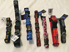 Lupine Dog Collars Assorted Sizes and Patterns with Lupine's Lifetime Guarantee