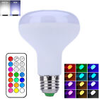 New 10W E27 Dimmable RGBW LED Ball Light Bulb Color Changing with Remote Control