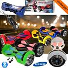 "8"" Smart Balance Board Scooter Balancing Samsung Bluetooth Wheel Hoverboard Self"