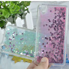 Luxury Glitter Heart Quicksand Liquid Soft Case Cover For Huawei ALE-L21 P8 Lite
