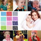 No-BPA Foodgrade Silicone DIY Bracelet Necklace Bead Baby Teether Teething Beads