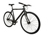 LoCal Bike Elysian Fixed Gear Track Complete Bicycle Black SM MD LG