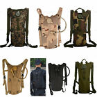 Stylish 3L Hydration System Packs w/ Water Bladder Bag Cycling Hiking Backpack#