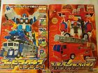 Takara Transformers RID C-001 Optimus Prime Super Fire Convoy  C-023 God Magnus