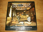 Treasures of Chatsworth A Private View The Duchess of Devonshire.SIGNED COPY