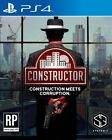 CONSTRUCTOR PS4 GAME - BRAND NEW AND SEALED