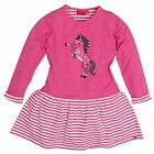 Salt and Pepper Mädchen Kleid forever Horse Pink 10692