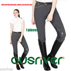 Horse Riding Pants Ladies Silicone Knee Jodhpurs Womens Silicone Breeches 28-38