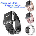 Clasp Watch Band Apple Watch iWatch Sport Edition Stainless Steel Strap 38/42mm