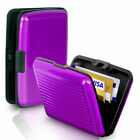 USA FAST Business ID Credit Card Wallet Holder Aluminum Metal Pocket Case Box