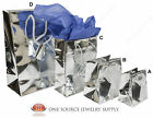 Gift Bags Silver Gloss Tote Party Supplies Paper Gift Bags Holiday Bags Wedding