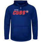 Chicago Cubs Men's Receiving End Synthetic Pullover Hoodie Jacket MLB Majestic