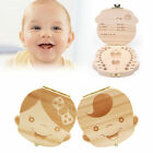 Внешний вид - Tooth Box Organizer Kids Baby Save Milk Teeth Wood Storage Box For Boy Girl MT11