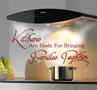 KITCHEN WALL STICKERS QUOTES Wall Art Decal Stickers Kitchen Wall Quotes  N100