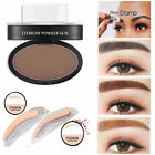 Natural Eyebrow Shadow Definition Makeup Brow Stamp Powder Palette Delicated