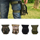 MULTI-PURPOSE MOLLE CAMP CYCLING OUTDOOR LEG DROP UTILITY BAG THIGH PACK Travel
