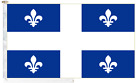 Canada Quebec Roped & Toggled 5' x 3' Courtesy Boat Flag