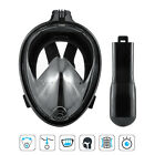 Scuba Mask Dry Full Face Diving Glasses Goggles Swimming Snorkel Tools For GoPro