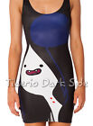 Adventure Time Marceline Vampire Queen Cosplay Digital Print Bodycon Short Dress