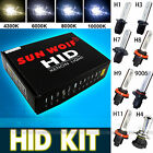 Hid Xenon 55W Headlight Conversion Kit Lamp Bulbs H1/H3/H4/H7/H11/9005/9006/9004