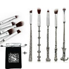 5PCS Harry Potter Wizard Wand MakeUp Brushes Set Magic Brushes Collection Gifts