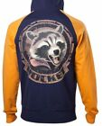 KAPUZENPULLOVER OFFICIAL MARVEL ROCKET HOODIE GUARDIANS OF THE GALAXY 2 XL