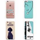 Grey's Anatomy season 13 inspired TPU Silicon iPhone Case for 5/5S 6/6S 7 plus