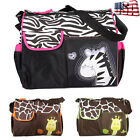 Baby Changing Diaper Nappy Bag Mummy Mother Handbag Multifunctional Stroller US