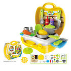 Baby Kids Pretend Toys Family Role Play Kitchen Job Makup Supermarket Toys Case
