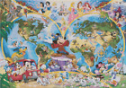 Counted Cross Stitch Pattern or kit, Disney World Map