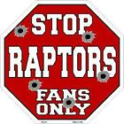 NBA Basketball Toronto Raptors Metal Stop Sign Man Cave Garage Barn Shop BS-270 on eBay