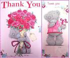 """Me To you Tatty Teddy """"THANK YOU"""" Cards ~ 2 Listings"""
