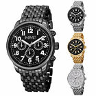 Men's August Steiner AS8147 Quartz Multi-function Day/Date GMT Bracelet Watch