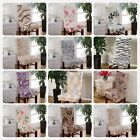 4/6/8pcs Stretch Spandex Dining Room Chair Cover Banquet Seat Decor 12 Kinds AU