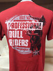 New Mens Western Wrangler T-Shirts Red PBR