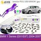 LED Interior Light Kit Bulbs Xenon White Lamp For BMW 1 Series E81 E87 2004-2007