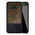 Shockproof PU Leather Soft Silicone Case Carbon Fiber Hard Back TPU Cover Shell