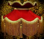 Burgundy Victorian Lampshades, Table Lamps, Ceiling Lights & Standard Lampshades