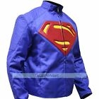 Cordura Jacket - Superman BLUE Smallville Man of Steel , Superman Blue Jacket