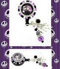 "DELUXE ""Nightmare Before Christmas"" Badge Reel ID Locket Pendant Badge Holder~"