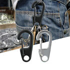 5pcs Climbing Hanging Buckle Snap Clip Hook Keychain Carabiner D-Ring Shape Tool