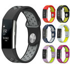 For Fitbit Charge 2 Sport Band Soft Silicone Watch Band With Breathable Holes