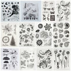 20 Style Alphabet Silicone Clear Rubber Stamps Sheet Cling Scrapbooking DIY