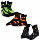 Внешний вид - TeeHee Halloween Kids  Fun Crew Socks 3-Pair Pack (Cat Faces)