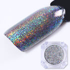 BORN PRETTY Holographic Galaxy Glitter Powder Laser Holo Nail Sequins Paillette