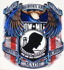 American Flag POW MIA #2 decal Camper RV motorhome mural graphic Sticker decals