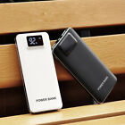 US Portable 50000mAh Power Bank 2USB LCD LED Battery Charger For Universal Phone