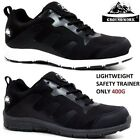 Womens GROUNDWORK Lightweight Ladies Safety Trainers Steel Toe Cap Work Boots SZ